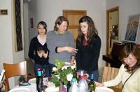 タリ家の食卓