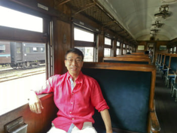 大井川鉄道SL列車の客車