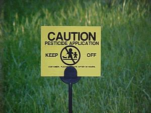 PesticideSign