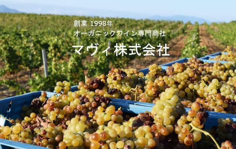 創業1998年オーガニックワイン専門商社マヴィ株式会社