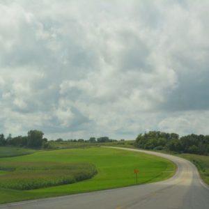 なだらかな丘が続く美しい土地